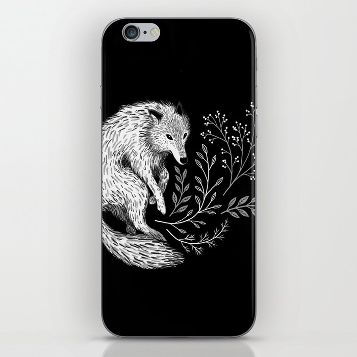 Botanical Wolf iPhone Skin