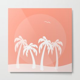 Everything Under the Sun - Abstract Metal Print