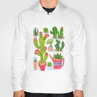 cactus Hoodies featuring Cactus by Hui_Yuan-Chang