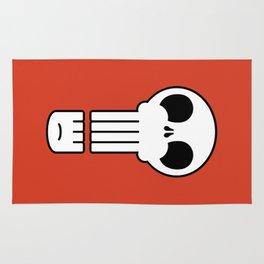 Long Skull Rug