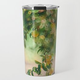 Summer Orchard Travel Mug