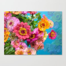 Happy Hurricane Canvas Print