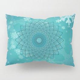 Ice Mandala Pillow Sham