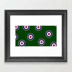 RAF Insignia Framed Art Print