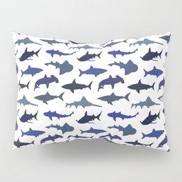Blue Sharks Pillow Sham