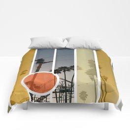 Boardwalk Nights Comforters