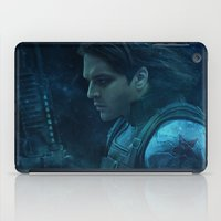 bucky barnes iPad Cases featuring The Winter Soldier (Bucky Barnes) by thecannibalfactory