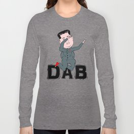 Kim Jong Un Dabbing Long Sleeve T-shirt