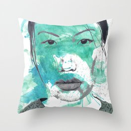 More than Existing  Throw Pillow