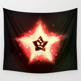 Disgruntled Star Wall Tapestry