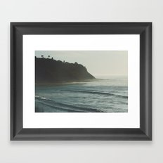 California Daydreams. Framed Art Print