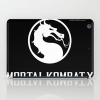 the mortal instruments iPad Cases featuring Mortal  ombat x by Eirarose