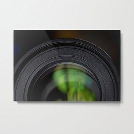 Photography Lens Macro Detail Metal Print