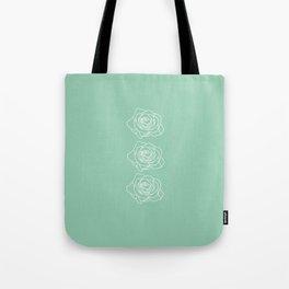 Rose Vert Claire Tote Bag