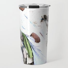 Bedouin Boy in watercolour Travel Mug