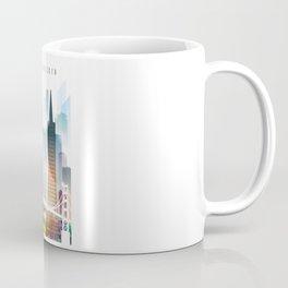 City of San Francisco painting Coffee Mug