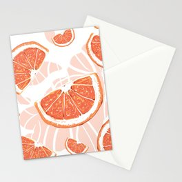 Orange Juice Splash- Art print Stationery Cards