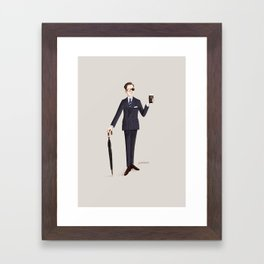Agent Galahad Framed Art Print