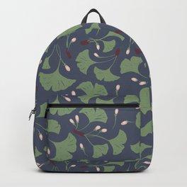 Ginko Leaves Pattern Backpack