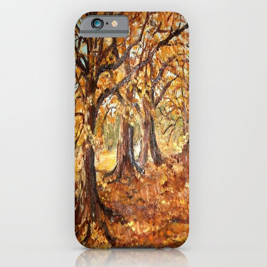 Autumn path iPhone & iPod Case