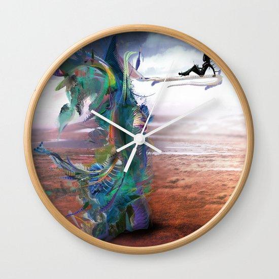 Tissin:nt Wall Clock