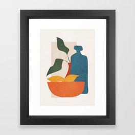 Minimalist Still Life Art Framed Art Print