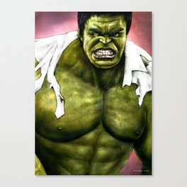 Dr.Incredible Canvas Print