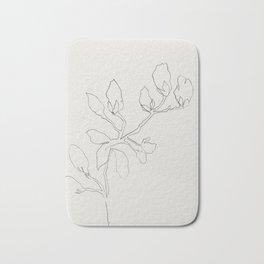 Floral Study No. 3 Bath Mat