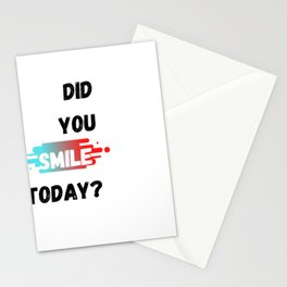 Smiling Collection Stationery Cards