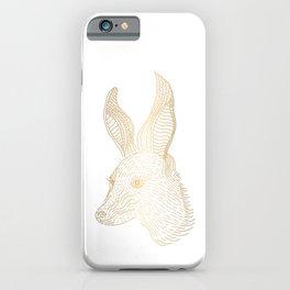 Gold Rabbit - LBC iPhone Case