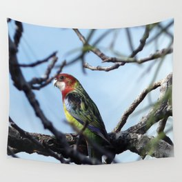 Rosella Parrot Wall Tapestry