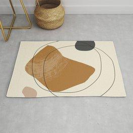 abstract minimal 60 Rug