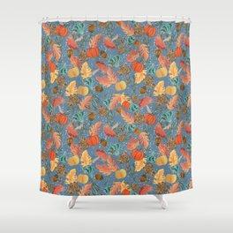 Fall Woodland Shower Curtain