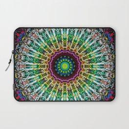 Colorful Vibrant Gypsy Mandala Laptop Sleeve
