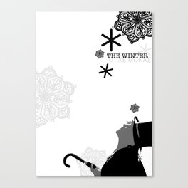 Meet Niko, Winter Things Canvas Print