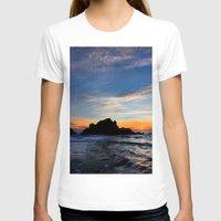 big sur T-shirts featuring Big Sur sunset  by davehare