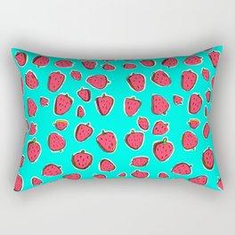 Fresas de invierno Rectangular Pillow