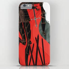 Knight of Swords iPhone Case