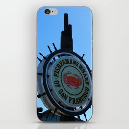 Fisherman´s Wharf Sign iPhone Skin