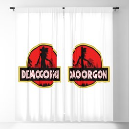The Upside Down Creature Blackout Curtain