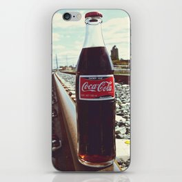 Urban railway Coke iPhone Skin