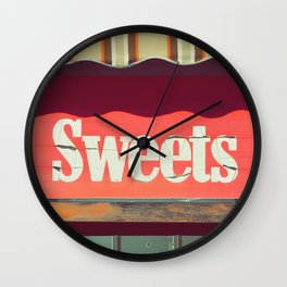 Sweets by Eamon Donnelly Wall Clock