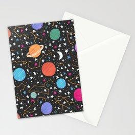 Astrology Pattern Stationery Cards