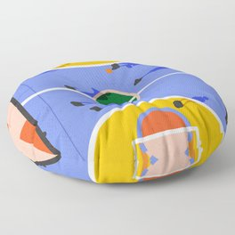 Hoops Floor Pillow