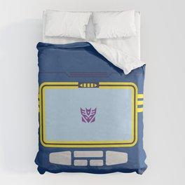 Soundwave Transformers Minimalist Duvet Cover