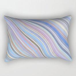 Wild Wavy Lines 25 Rectangular Pillow