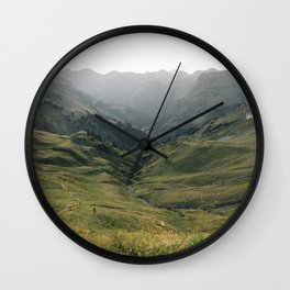 Little People - Landscape Photography Wall Clock