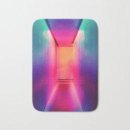 Neon Hallway (Color) Bath Mat