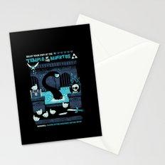 Templo de los Muertos Stationery Cards
