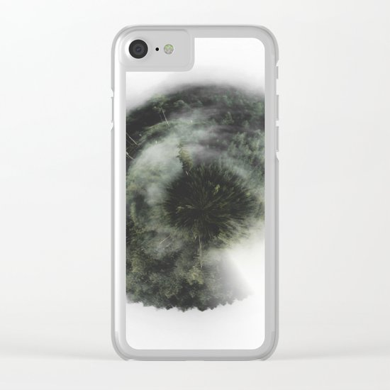 Welcome to my world Clear iPhone Case